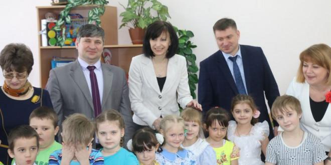 Визит министра образования и науки Алтайского края в Поспелихинский район 16 марта 2017г.