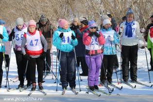 В Поспелихинском районе состоялись соревнования по лыжным гонкам среди преподавателей и воспитателей образовательных учреждений