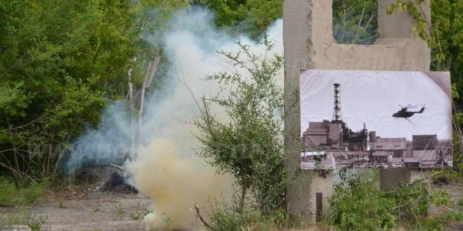 Фоторепортаж. «Реконструкция аварии на Чернобыльской АЭС». Поспелиха, 8 июня 2017 г.