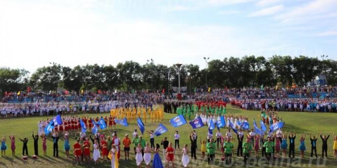 Фоторепортаж. Торжественное открытие XXXIX летней олимпиады сельских спортсменов Алтайского края