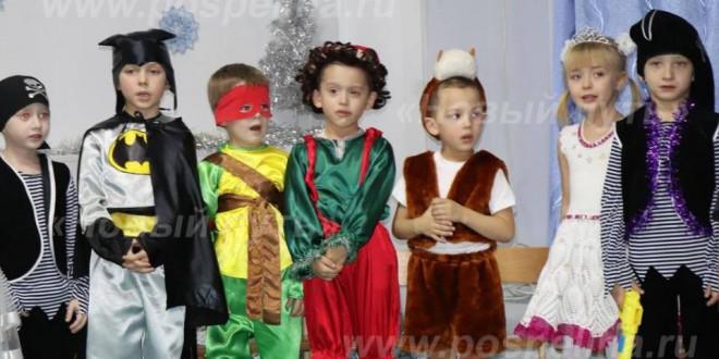 Фоторепортаж. Новогодняя ёлка в детском саду «Ракета»