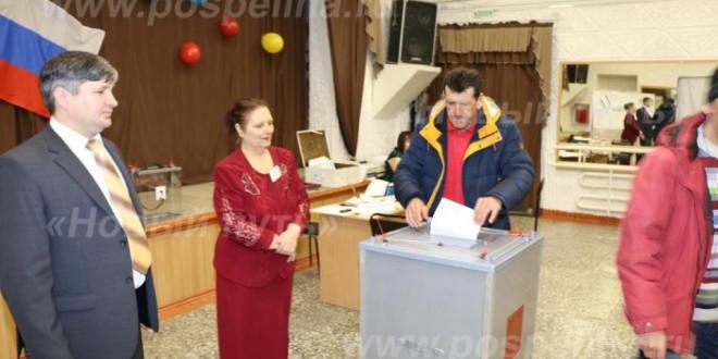 Фоторепортаж. Выборы-2018: в Поспелихе идёт голосование. ЦДТ. 18 марта 2018 года