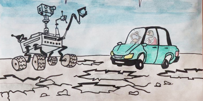 Фоторепортаж. Дети рисуют Президента. ПСШ №2
