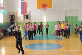 В Поспелихинском районе открыли новый школьный спортивный клуб «Олимп»
