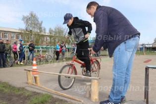 В Поспелихена базе Поспелихинской средней школы №3 прошел ежегодный конкурс «Безопасное колесо»