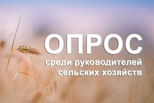 Опрос среди руководителей хозяйств района: «Довольны ли вы результатом сельскохозяйственного года?»