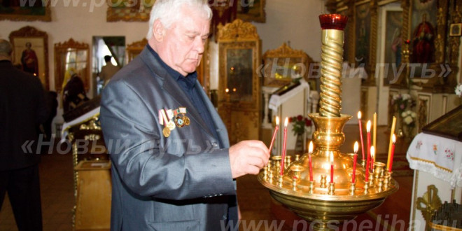 Фотоальбом «Молебен в память о чернобыльцах-ликвидаторах»