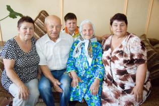 15 июля сразу две жительницы района принимали поздравления с юбилейным днем рождения