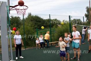 В Поспелихинском центре помощи детям торжественно открыли современный спортивно-игровой комплекс