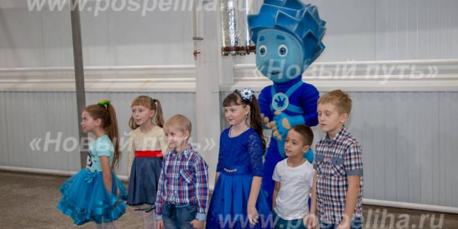 Фотоальбом «Съемки «Фиксиков» на Поспелихинской макаронной фабрике»