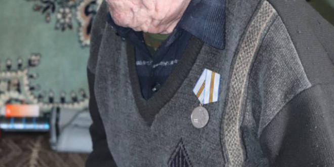 В Поспелихинском районе продолжается вручение юбилейных медалей труженикам тыла