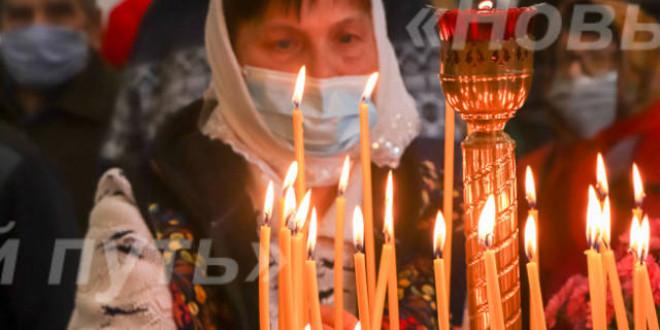 1 октября в селе Калмыцкие Мысы освящен храм в честь Владимирской иконы Божией Матери