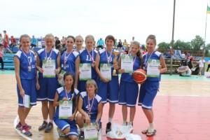 3 место Поспелиха жен баскетбол